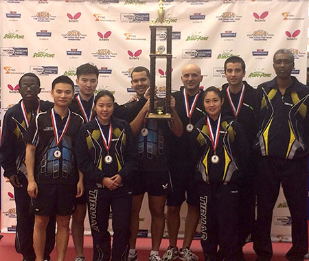 Texas Wesleyan Table Tennis Team wins 11th straight national championship.
